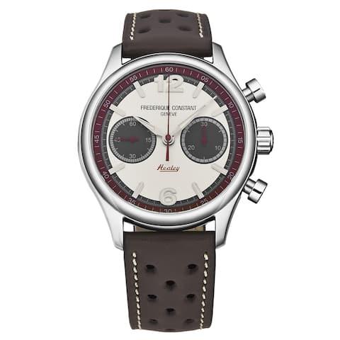Frederique constant men's 'healey' automatic watch fc-397hsg5b6