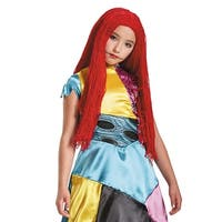 Girls Sally Nightmare Before Christmas Yarn Wig - Standard - One Size