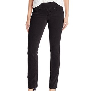Jag Jeans NEW Black Women's Size 6 Pull On Straight Corduroys Pants