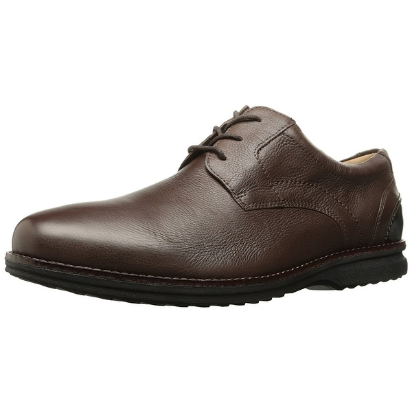 Rockport Mens Premium Class Plaintoe Oxford Leather Lace Up Dress Oxfords - 10.5