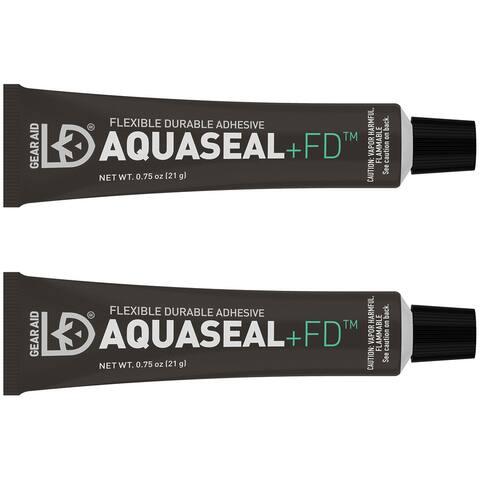 Gear Aid Aquaseal FD .75 oz. Outdoor Gear Repair Adhesive - 2-Pack - 0.75 oz.