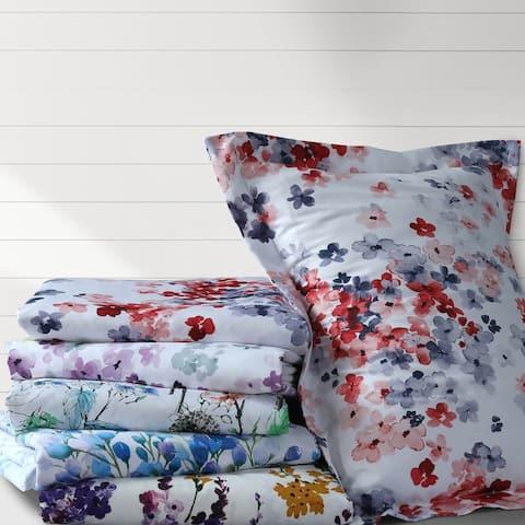 Floral Printed Oversized Duvet Cover Set