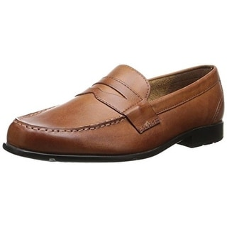 Rockport Mens Classic Lite Leather Slip On Penny Loafers