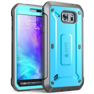 Galaxy S6 Active Case, SUPCASE, Unicorn Beetle PRO Series, Full-body Holster Case, Samsung Galaxy S6 Active-Blue/Black