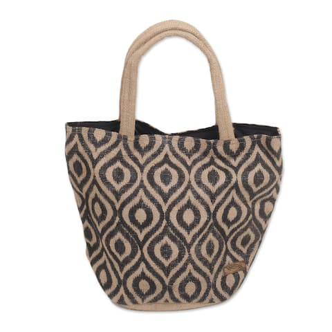 NOVICA Upcycled beaded flap handbag, 'Vibrant Splash'