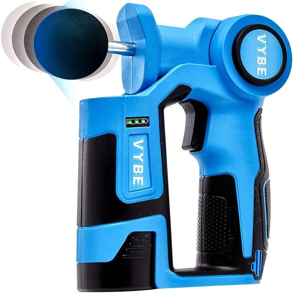 Vybe Percussion Massage Gun Handheld Brushless Electric Body Massager - Blue. Opens flyout.