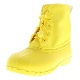 Native Boys Youth Lace Up Rain Boots - 2
