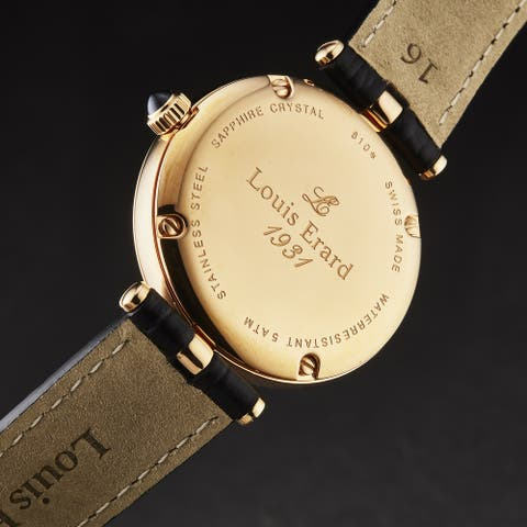 Louis erard women's 'romance' swiss quartz watch 11810ps40.brcb5