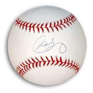Autographed Carlos Baerga MLB Baseball