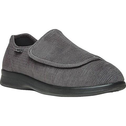 Propet Men's Cush N Foot Slate Corduroy/Neoprene