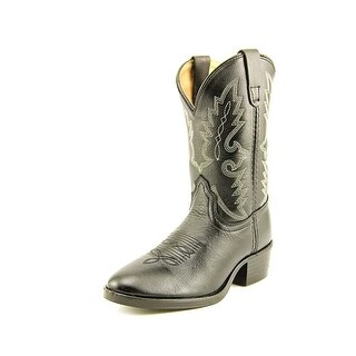 Dan Post Dusty Boot Round Toe Leather Western Boot