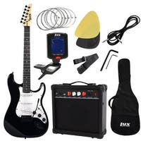 LyxPro Starter kit Pack Full Size Electric Guitar with 20w Amp