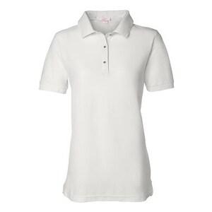 FeatherLite Women's Pique Sport Shirt - White - 3XL