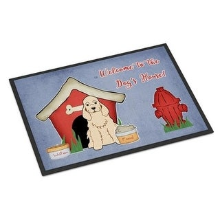 Carolines Treasures BB2848MAT Dog House Collection Cocker Spaniel Buff Indoor or Outdoor Mat 18 x 0.25 x 27 in.