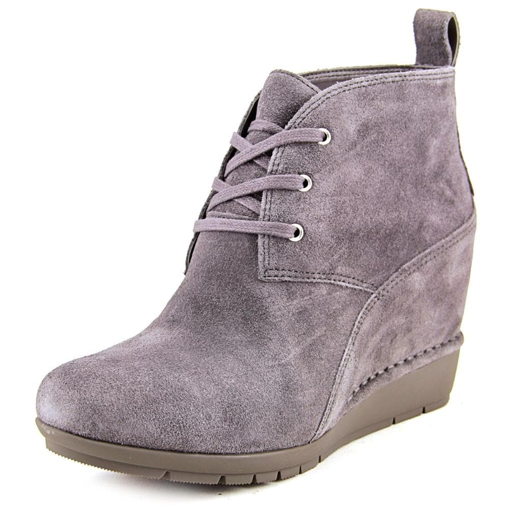 a0bd451fa5af1 Shop Rockport Total Motion Desert Wedge Boot Women Round Toe Suede Bootie -  Free Shipping Today - Overstock - 14053363