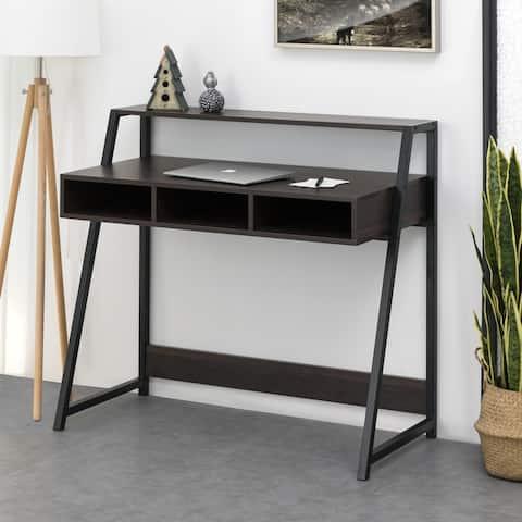 Carson Carrington Kakenas 36-inch Espresso Writing Desk