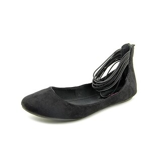 American Rag Womens CARRIE Round Toe Ankle Strap Slide Flats