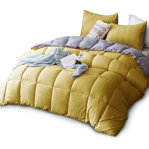 Kasentex Down Alternative Comforter Set Reversible Duvet Insert