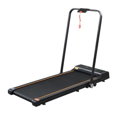 2 in 1 Folding Treadmill, Under Desk Electric Treadmill
