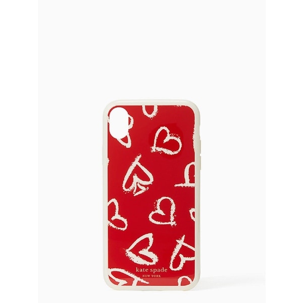 390acce7f Shop Kate Spade New York Heart Scatter iPhone Xs/iPhone X Case - Free  Shipping On Orders Over $45 - Overstock - 26443691