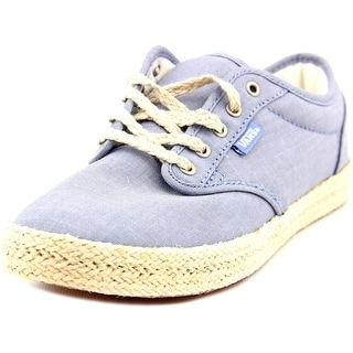 Vans Atwood Low Espadrille Round Toe Canvas Espadrille