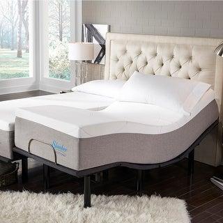 Link to Slumber Solutions 14-inch Gel Mattress Adjustable Set Similar Items in Bedroom Furniture