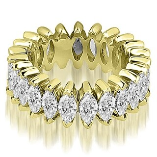2.88 ct.tw Marquise Diamond Eternity Ring - White H-I (More options available)