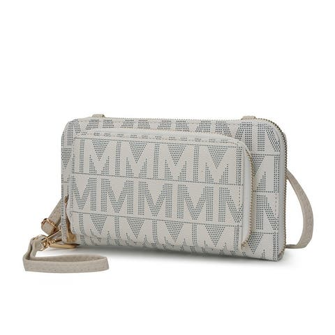 MKF Collection Dilma Wallet Crossbody Bag by Mia K.