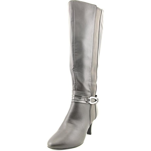 Karen Scott Holdenn Wide Calf Women  Round Toe Synthetic  Knee High Boot
