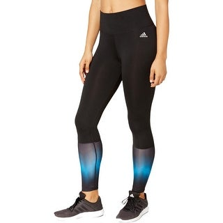 Adidas Womens Athletic Leggings High-Rise Tight Compression