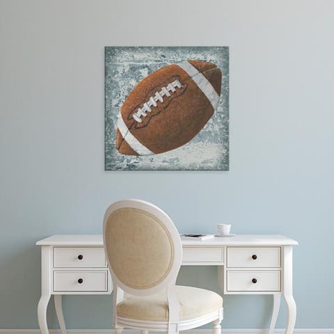 Easy Art Prints Studio W's 'Grunge Sporting II' Premium Canvas Art