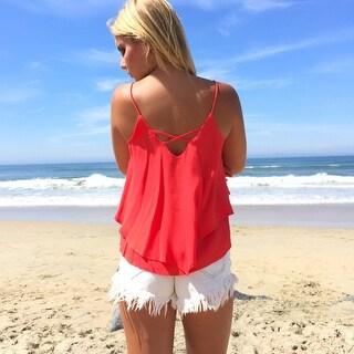 2016 New Sexy Women Summer Casual Sleeveless Blouse Tank Tops Shirt T-Shirt
