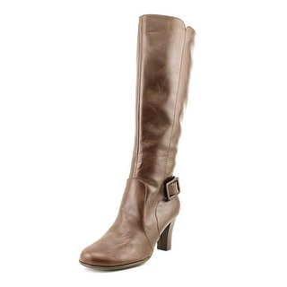 A2 By Aerosoles Money Role Women  Round Toe Synthetic Brown Knee High Boot