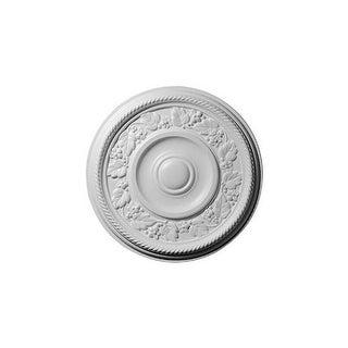 """Ekena Millwork CM16TY 16.125"""" Wide Tyrone Ceiling Medallion"""