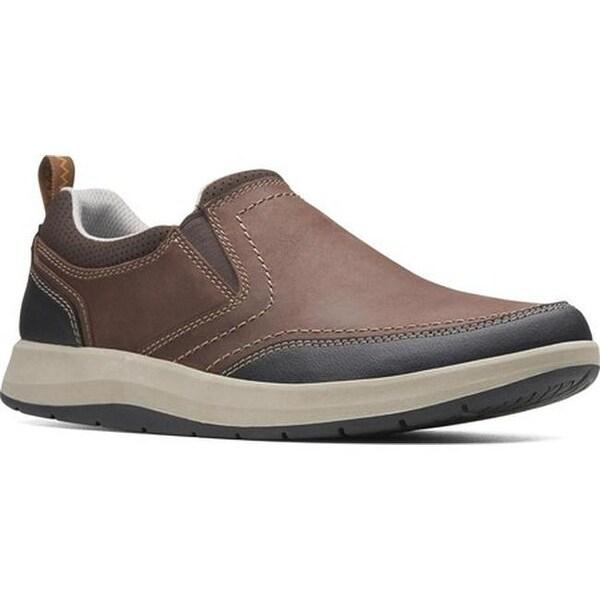 Shop Clarks Men S Shoda Race Ii Loafer Brown Leather On