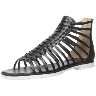 Calvin Klein Womens Maze Open Toe Casual Gladiator Sandals
