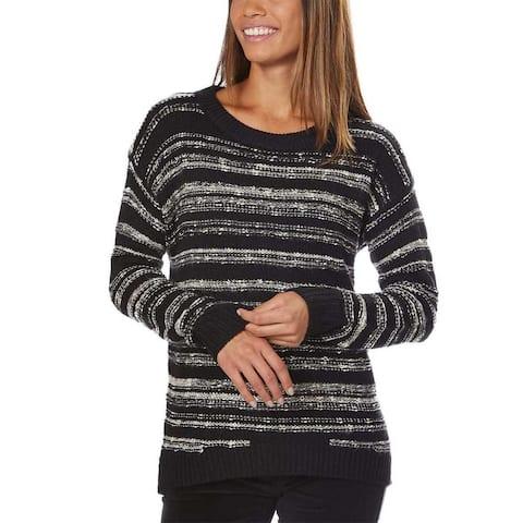 Calvin Klein Jeans Women Marled Crew Neck Long Sleeve Shirt Sweater