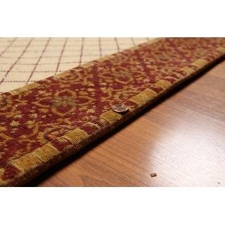 Beige Burgundy Gold Brown Multi Oriental Rug Wool Traditional Oriental Area Rug 5x7 5 7 X 7 9 On Sale Overstock 31302242
