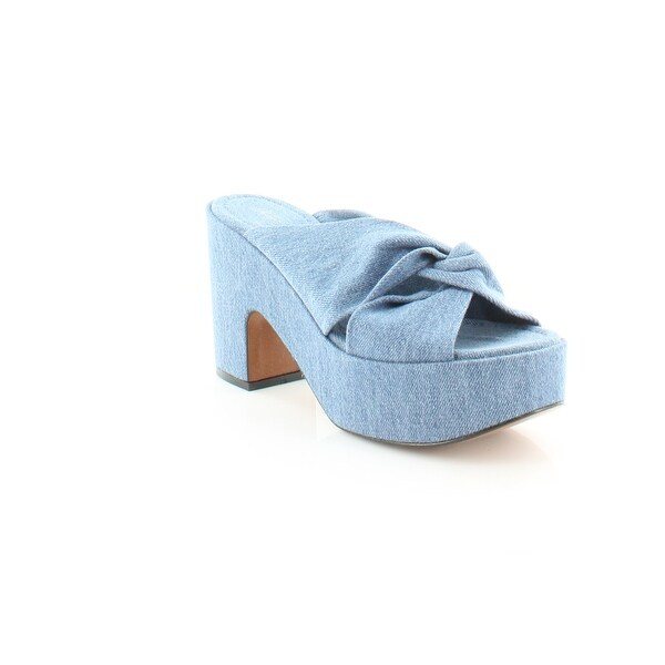 Robert Clergerie Esthert Women's Heels Denim - 10.5