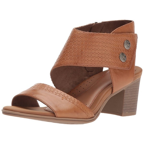 Rockport Womens Hattie 2 Leather Open Toe Casual Ankle Strap Sandals