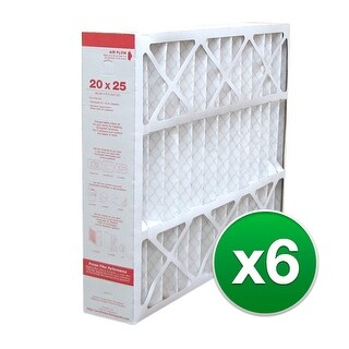 Replacement Pleated Air Filter for For Honeywell CF200A1016 HVAC 20x25x5 MERV 11 (6 Pack)
