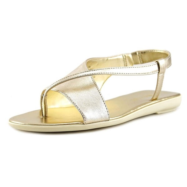 Nine West Golper Women Lt Gold Sandals