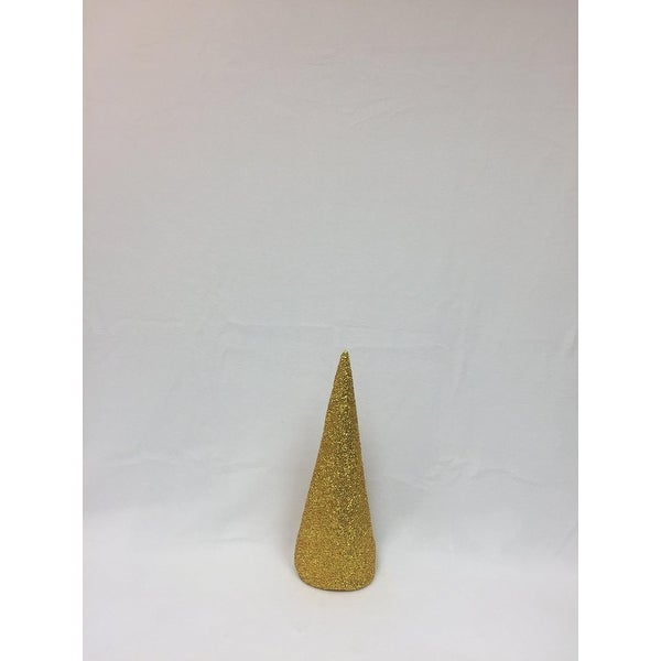 "15"" Gold Inflatable Christmas Tree Shaped Ornament"