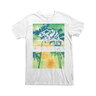 Fruit of the Loom Mens T-Shirt Graphic Crew Neck