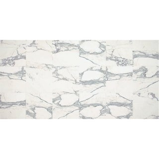 """Daltile M1212U Marble Collection - 12"""" x 12"""" Square Multi-Surface Tile - Honed Marble Visual - N/A"""