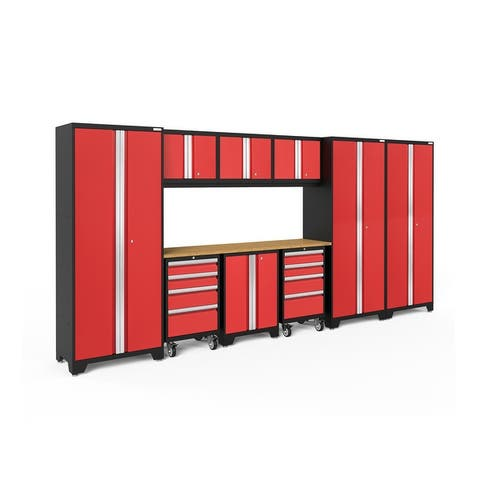 NewAge Products Bold Series 10-pc. Steel Garage Cabinet Set