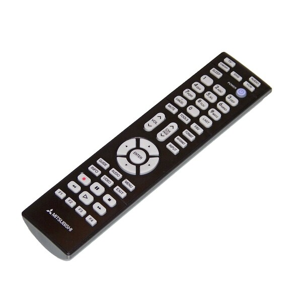 OEM Mitsubishi Remote Control Originally Shipped With WD57931, WD-57931
