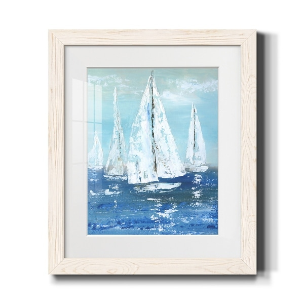 White Sails-Premium Framed Print - Ready to Hang. Opens flyout.