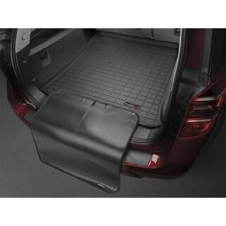WeatherTech 40339SK Series Black Digital Fit Cargo Liner w/Bumper Protector: Nissan Rogue Select 2014-15
