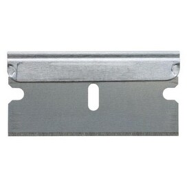 "Stanley 28-510 Single Edge Razor Blade, 1-1/2"", High Carbon Steel"